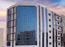 للبيع: برج الأمين (مبنى سكني تجاري) في قلب العاصمة مسقط بمرتفعات بوشر