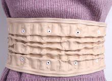 حزام داعم قطني مصحح الوضعية العمود الفقري الهواء الجر حامي الخصر الألم تخفيف الظهر الضغط مدلك أحزمة