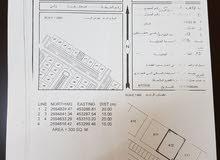 للبيع ارض سكني تجاري في ولايه صحار منطقة ولي التجارية