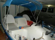 PEDAL BOAT امريكي قارب بدواسات ومكينه شحن