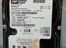 هارد ديسك 40 GB مستعمل بحالة جيدة