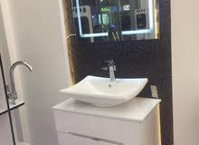أطقم مغاسل حمامات ( خشب ، PVC )، وصول موديلات حديثة من الخلاطات التركية،،شاور بانل