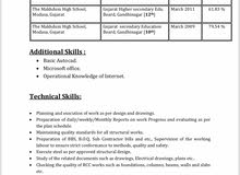 job seeker- Civil Engineer