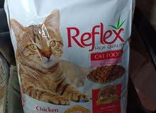 طعام قطط رفلكس