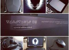 لابتوب Alienware 18.4 special edition serial number #1 مواصفات خاصة بحالة ممتازه