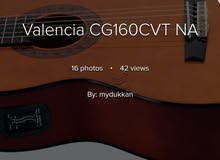 CG160CVTManufacturer: Valencia Guitars Type:Acoustic Guitar