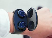 Wireless Earbuds Wristband Bluetooth 5.0 سماعة ذكية