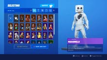 حساب فورتنات fortnite account