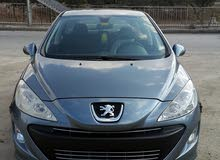 Silver Peugeot 308 2009 for sale