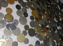 عملات معدنية قديمة تصل الى 87 سنة من 15 سنة لاكثر من 40 دولة