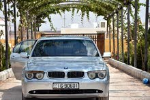 Silver BMW 745 2004 for sale
