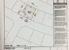 للبيع أرض سكنية ـ في ديار المحرق ) القمرة