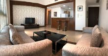 spacious 2 bedroom fully furnished in salmiya
