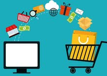 انشاء وتصميم متاجر الكترونيه  ومواقع شركات