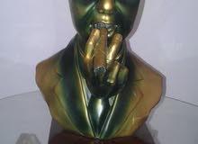تمثال من صلصال الجبس