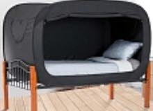خيمة كبيرة سوداء