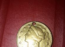 قطعة نقدية 1874