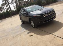 Automatic Black Jeep 2016 for sale