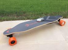 لوح تزلج الكتروني Electric long Skateboard
