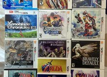 العاب Nintendo 3DS اشرطة