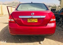 Used condition Nissan Tiida 2007 with +200,000 km mileage