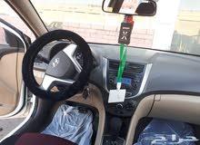 للبيع سيارة هيونداي اكسنت مودال 2014
