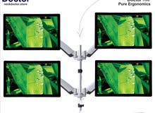 Multi monitor stand -Ergonomic Multiple 4 Monitor Arm Stand - NeckDoctor BEAST