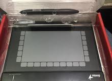 تابلت مع قلم للتحكم بالكومبيوتر مع ميزات كثيرة
