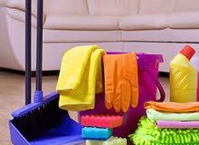 عاملات نظافة باليومية