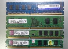 رام DDR3   مجموعة مشكلة شبه جديدة