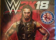 للبيع WWE2K18 PS4 CD