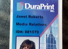 تصميم وطباعة كروت بلاستك  PVC ID CARDS