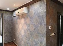 تركيب جميع انواع ورق الجدران باقل الاسعار