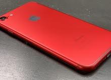 ايفون 7 احمر نضيف خبش لا صحة البطارية 92 جهاز تبارك الرحمن مايشكي من شي 128 جيجا