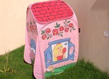 خيمة أطفال بالون الوردي فقط
