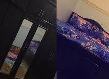 غرفه نوم سرير وكبت للبيع