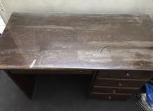 للبيع مكتب خشب زان