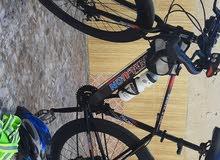 دراجة هوائية نوع racing ألمنيوم بالكامل مع عجلات كاربون فايبر