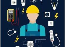 تركيب الكهرباء المنزلي والمصانع