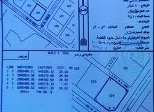 ثلاث اراضي سكنية شبك /خط اول الشارع الرئيسي عبري السعودية