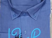قمصان تركى كتان وقطن من اجود الخامات   اسال على العرص الخاص