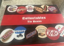 sweets box with names