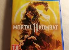 سي دي (Mortal kombat 11) بحالة جيدة