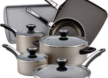 Farberware High Performance Nonstick Cookware Pots and Pans Set Dishwasher Safe,