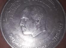 5دينار تونسية فضة 25غ 1976