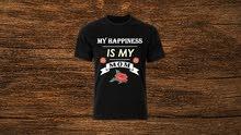 T-Shirt new design By Mahmoud Nakdali - New - كنزة بتصميم جديد - جديد متاح -