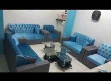 مجموعة لطيفة أريكة جديدة 7 مقاعد 3 + 2 + 1 + 1 اللون المتاحة