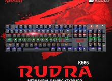 كيبورد ميكانيكل REDRAGON MECHANICAL RUDRA K565R
