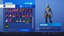 Fortnite Account for 120 rials with season 2 skins and with save the world.