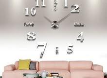 ساعات ثري دي كبيرة للحايط